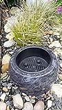 Grabschale 12cm x 25cm Pflanzschale Granit Orion Blumenschale Friedhofsschale Grabschale Orion