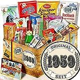 Original seit 1959 + Geschenk Ost-Süßigkeiten + Geschenk zum 60. Geburtstag