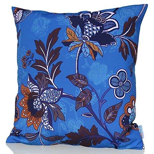 Sunburst Outdoor Living 60cm x 60cm ORIENT Federa decorativa per cuscini per divano, letto, sofà (Rust Brown Set Esterno)