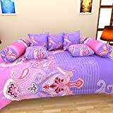 Bharti Home Fab Cotton Diwan Set (Pack o...