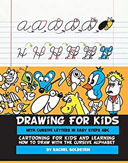 Drawing for kids with cursive letters in easy steps abc cartooning drawing for kids with cursive letters in easy steps abc cartooning for kids and learning fandeluxe Images