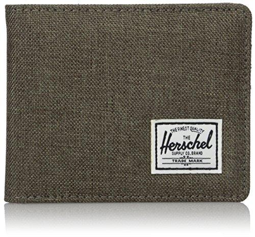 Herschel Wallets Roy+Coin portafoglio 11 cm canteen crosshatch