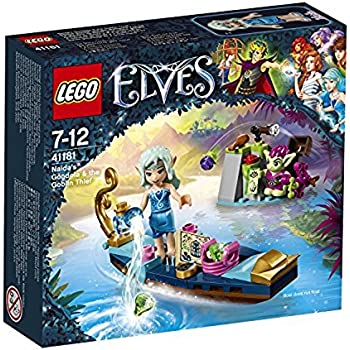 Lego 41181 - Elves - Jeu de Construction - La Gondole de Naida et le Voleur Gobelin