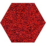 1 KG Kilo RED HOLOGRAPHIC GLITTER ULTRA FINE WINE GLASS ART AND CRAFT NAIL ART SCRAPBOOKING NON TOXIC
