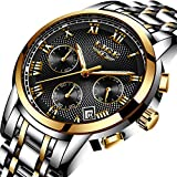 Best Designer Watches - Men's Watches,LIGE Luxury Brand Chronograph Sports Watch Men Review