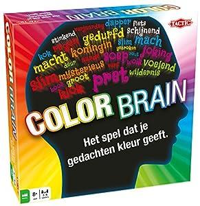 Tactic Color Brain Preescolar Juego Educativo - Juego de Tablero (Juego Educativo, Preescolar, 30 min, Niño/niña, 8 año(s), 240 Pieza(s))