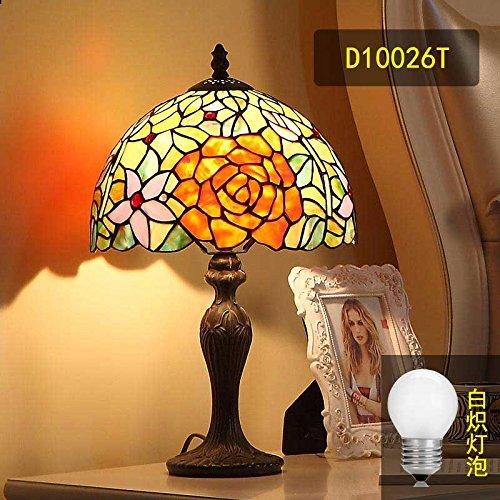 Continental retrò minimalista camera da letto letto creative lampade soggiorno studio idilliaco lampade estetico cafe lampade in vetro , incluso Wong Kwong incandescente , l'interruttore reostato