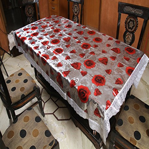 Freely Print Dining Table Cover For 6 Seaters  available at amazon for Rs.749
