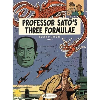 Blake & Mortimer - tome 22 Professor sato's three formulae partie 1 (22)