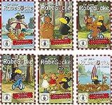 Der kleine Rabe Socke - Die TV-Serie 1 - 6 im Set - Deutsche Originalware [6 DVDs]