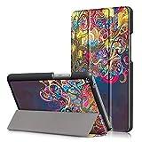 DETUOSI MediaPad T3 8.0 Schutzhülle - Ultra Slim PU Leder Tasche Hülle für Huawei MediaPad T3 (8 Zoll) Tablet Smart Cover case mit Standfunktion