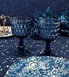 Coppia bicchieri Calici Vino Shabby Chic Blanc Mariclo Glass Collection