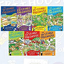 Andy Griffiths Treehouse Collection 7 Books Set (The 65-Storey Treehouse, The 52-Storey Treehouse, The 39-Storey Treehouse, The 13-Storey Treehouse, The 26-Storey Treehouse, The 78-Storey Treehouse, The 91-Storey Treehouse)