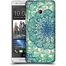 Official Micklyn Le Feuvre Emerald Doodle Mandala 3 Hard Back Case for HTC One mini