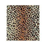 Home Arts Treppenaufkleber Aufkleber Abnehmbare Selbstklebende Leopardenmuster PVC Wasserdichte Treppe Tapete Für Wohnzimmer Dekoration 6 Teile/Satz,100 * 18cm*6PCS