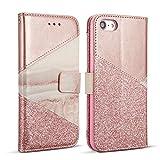 Die besten Kaufen I Phone 6 Hüllen - ZCDAYE Hülle für iPhone 6 6S,Premium Bling Glitter Bewertungen