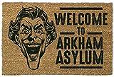 1art1 99285 Batman - The Joker, Welcome to Arkham Asylum Fußmatte Türmatte 60 x 40 cm