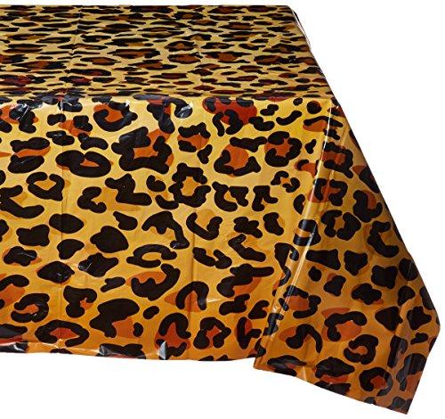 decke mit Leopardenmuster, 137,2x 274,3cm ()