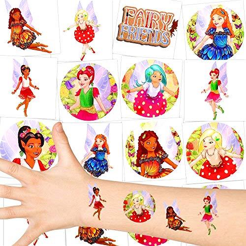 German Trendseller® - Kleine Feen Tattoos - Für Kinder ┃ NEU ┃ Party Tattoos ┃ Kindergeburtstag ┃ Mitgebsel ┃36 Tattoos
