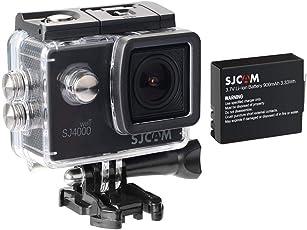 SJCAM SJ4000 WiFi 1080P 12MP 2.0'' LCD Action Camera (Black) – 1 Year Warranty by OVIO