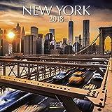 New York 2018: Broschürenkalender mit Ferienterminen. Format: 30 x 30 cm