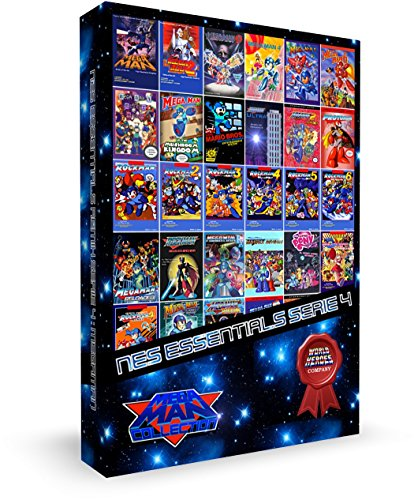 CARTOUCHE POUR CONSOLE NES ESSENTIALS SERIE 4 : MEGAMAN ULTIMATE COLLECTION