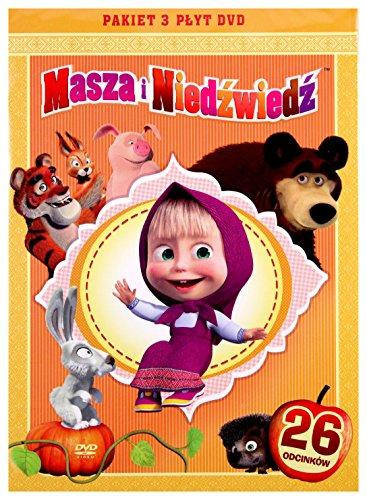 Preisvergleich Produktbild Masza i Niedwied. Pakiet 3 pyt DVD (CzÄci 1-3) [3DVD] (Keine deutsche Version)