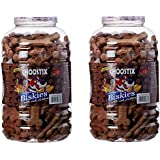 Choostix Biskies With Real Mutton Dog Treat, 1 Kg (Pack Of 2)