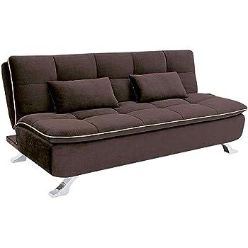 Godrej Interio Brussels Three Seater Sofa Cum Bed Black Amazon In
