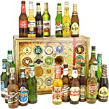 Geschenkideen für Männer BIER AUS ALLER WELT Geschenkbox mit 24 Flaschen Bier + Geschenkkarten + Bierbewertungsbogen. Bier Geschenke für Ihn. Bier der Welt mit 24 Flaschen Bier Geschenkidee zum Geburtstag für Männer Geschenkset zum Geburtstag für Opa Geschenkideen für Ehemann Geburtstag Geschenkideen für Ihn Geburtstag Geschenkset für Papa zum Geburtstag Geschenkset für Freund zum Geburtstag Geschenk für Ihn zum Geburtstag Geschenkidee zum Geburtstag Geschenkset zum Geburtstag