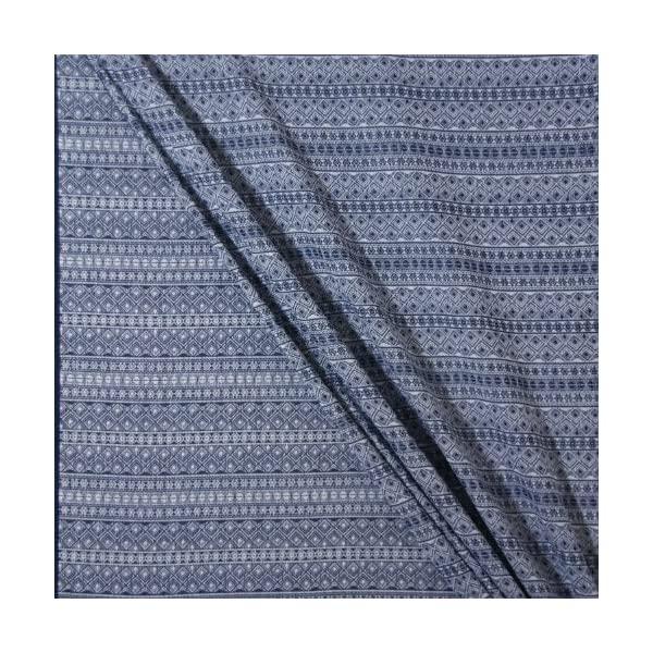 Didymos Indio Baby Wrap Sling (Size 4, Dark Blue/White) Didymos Various carrying positions, in front, sideways an on the back Special, diagonally stretchable cloth to give optimal support Holds your baby in the atomically correct posture 4