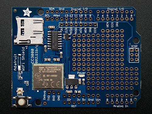 Adafruit CC3000 WiFi Shield with uFL Connector for usato  Spedito ovunque in Italia