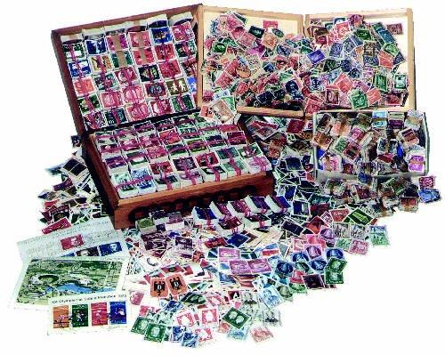 Preisvergleich Produktbild Goldhahn Lagerauflösung 500 Gramm Briefmarken für Sammler