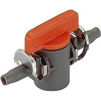 Gardena Micro-Drip-System Absperrventil 4.6 mm (3/16 Zoll): Regulierventil zur Rohrabsperrung einzelner Rohrstränge (Art…