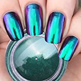Ushion Mirror Powder Nails Chamäleon Farbewechseln Magic Chrome Pigmente Für Nail Art