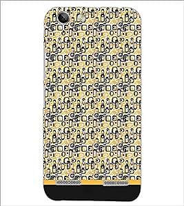 PrintDhaba Shapes Pattern D-1693 Back Case Cover for LENOVO VIBE K5 PLUS (Multi-Coloured)
