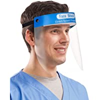 Case Creation Face Shield Mask Protection with full 180 Degree Protective Face Cover - Pack of 1