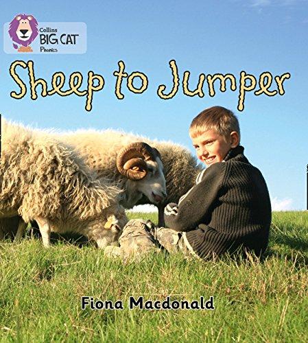 Sheep to Jumper: Band 03/Yellow (Collins Big Cat Phonics)