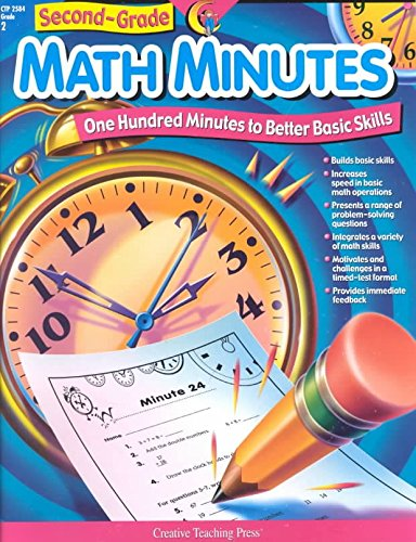[(1st-Grade Math Minutes)] [Created by Creative Teaching Press ] published on (June, 2002)