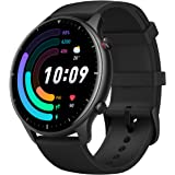 Amazfit GTR 2e SmartWatch with Curved Design, 1.39 Always-on AMOLED Display, SpO2 & Stress Monitor, Built-in Alexa,Built-in G