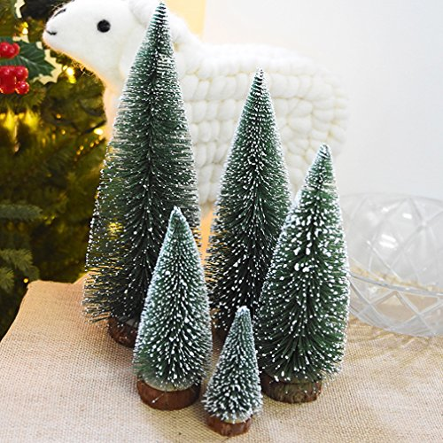 CanVivi Festive Künstlicher Weihnachtsbaum Tisch Christmasbaum Kleine Weihnachten Baum Dekoration Geschenk,20cm - Künstliche Kleiner Adventskranz