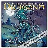 The enchanted World of Dragons – Die bezaubernde Welt der Drachen 2020: Original Carousel-Kalender [Mehrsprachig] [Kalender] (Wall-Kalender)