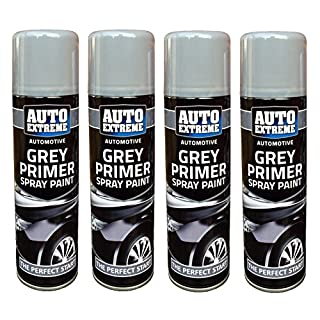 Auto Extreme Automotive Grey Primer SprayPaint Perfect Finish Bike Car Van 250ml (4)