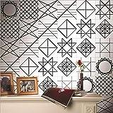 JY ART Fliesen Aufkleben Bad Küchenfliesen-Aufkleber Wandkunst Fliesentransfers Wandgemälde Home Moderne Dekoration, 20cm*5m