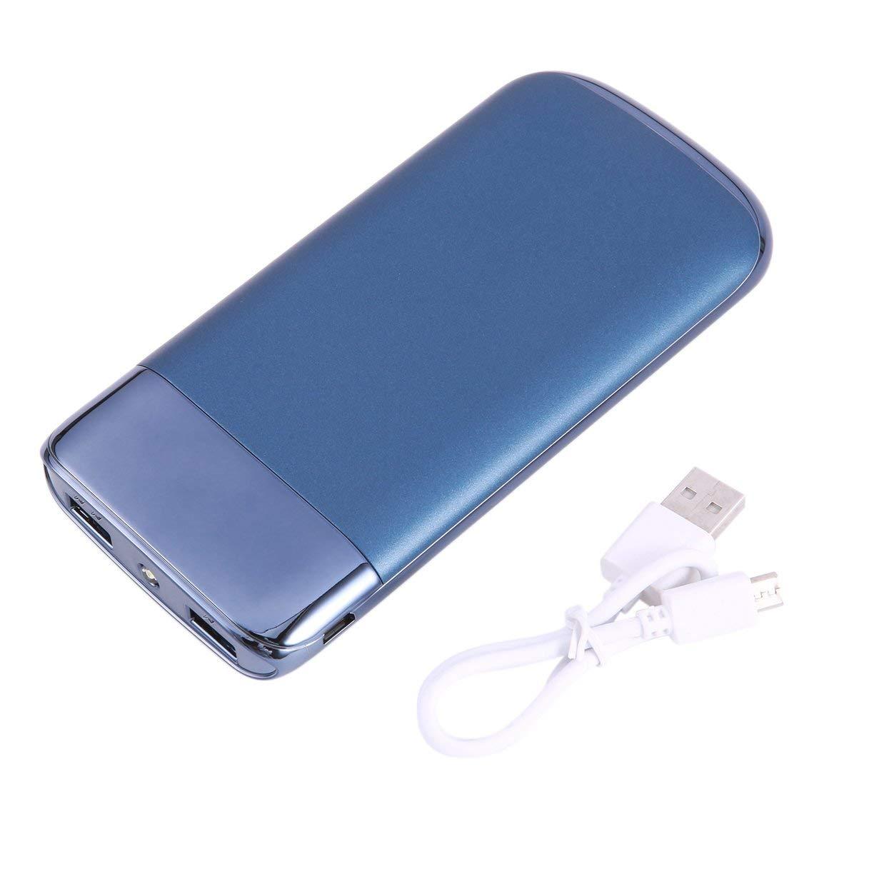 Tree-on-Life 20000mAh Banco de energía móvil Pantalla LCD Pantalla portátil Portátil Cargador de batería Externo con luz LED Banco de energía de Carga USB Dual