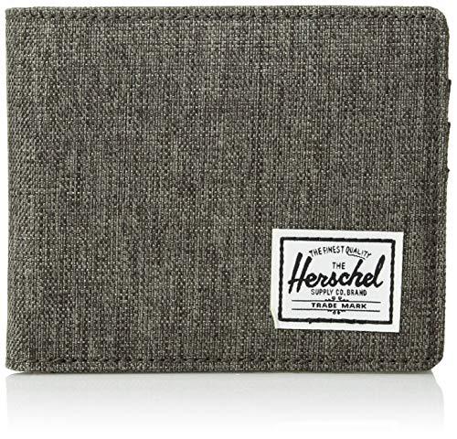 Herschel Roy + Coin RFID Canteen Crosshatch/Black