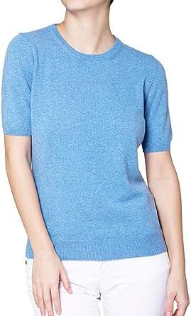 Barbara Di Davide T-Shirt Mirta 100% Cashmere - Made in Italy