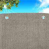 Tende Da Sole per Esterno Con Anelli a Caduta Teli SU MISURA stoffa tessuto Impermeabile Antimuffa MADE IN ITALY Telo TELONI Parasole Balconi Gazebo Telone Terrazzo Veranda Camper Barca MISURE Maxi