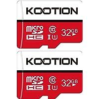 KOOTION 2 Pack 32 GB Micro SD Card Class-10 Micro SDHC Memory UHS-I Card Ultra High Speed TF Card R Flash, C10, U1, 32…