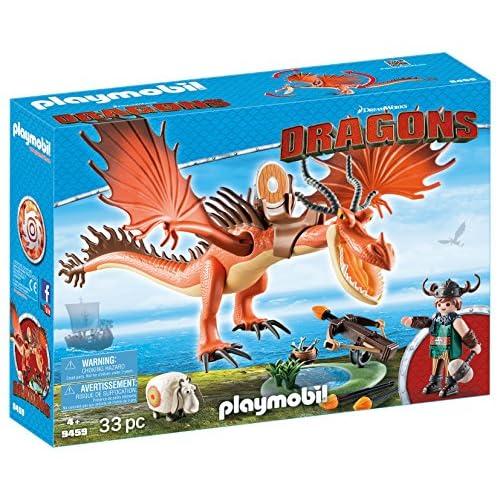 PLAYMOBIL DreamWorks Dragons Garfios y Patán Mocoso, A partir de 4 años (9459) 3
